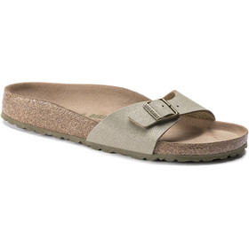 Birkenstock Madrid Sandals Birko-Flor Earthy Vegan Narrow Women, faded khaki
